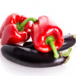 Red pepper eggplant — Stock Photo #62994073