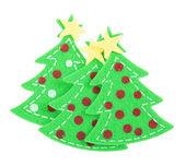 Stickers Christmas trees — Stock Photo