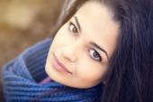 Beautiful brunette woman portrait — Stock Photo