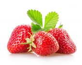 Sweet juicy strawberries — Stock Photo
