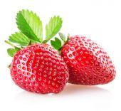 Shiny sweet strawberries — Stock Photo