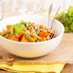 Sweet potato stew with green beans — Stock Photo #77116513