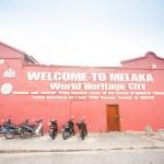 Wall at malacca city, world heritage in Melaka, Malaysia. — Stock Photo #54920485