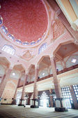 Inside the Putra Mosque, Putrajaya, Malaysia — Stock Photo
