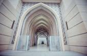 Tuanku Miizan zainal abidin mosque, Putrajaya Malaysia — Stock Photo