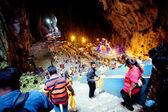 Cuevas de Batu, Malasia - 18 de enero de 2014: Thaipusam en el tem de las cuevas de Batu — Foto de Stock