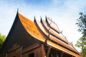 Chiang rai ,Thailand - NOV 21, 2013 : Baan Dam, Museum of Art in — Stock Photo