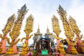 Golden Triangle - the border of Thailand, Burma and Laos — Stock Photo