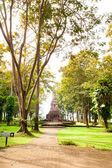 Ruins of temple in Sop Ruak, Northern Thailand — Stok fotoğraf