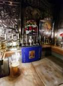 Jesus Tomb inside Church of the Holy Sepulchre, Jerusalem — Stock Photo