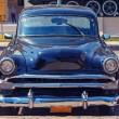 Vintage Black Car near Revolution Museum, Havana — Stockfoto #55150773