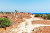 Ruins of Salamis near Famagusta — Stock Photo