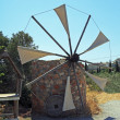 Traditional Greece Windmill, Crete — Stock Photo #55531661