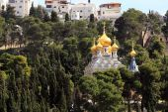 Mary Magdalene Convent on the Mount of Olives, Jerusalem — Stock Photo