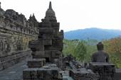 Ancient Borobudur Buddhist Temple — Stock Photo