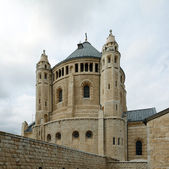 Benedictine Dormition Abbey, Jerusalem — Stockfoto