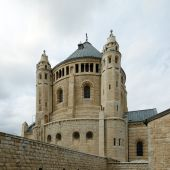 Benedictine Dormition Abbey, Jerusalem — Foto Stock
