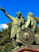 ミーニンとポジャル スキーの記念碑 — ストック写真