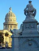 The Capitol Building and Fuente de la India, Havana — Foto de Stock