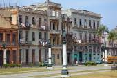 Typical Old city House, Havana — Stock fotografie