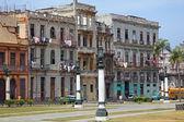 Typical Old city House, Havana — Fotografia Stock