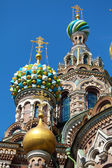 The Church of the Savior on Spilled Blood, Saint Petersburg — Stock Photo