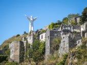 Christ the Redeemer of Maratea. Basilicata. italy — Stock Photo