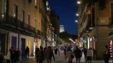 Barcelona Streets — Stock Video