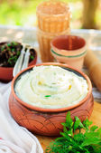 Herbed Mashed Potato — Stock Photo