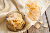 Candied Crystallized Ginger — Stock Photo