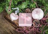 Christmas composition — Stock Photo