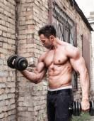 Muscle man — Stock Photo