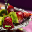Fruit canape snack — Stock Photo #59644529