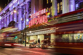 12 November 2014 Selfridges shop on Oxford Street,  London, UK, decorated for Christmas and 2015 New Year — Stock Photo