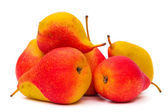 Fresh red pears — Stock Photo