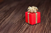 Boîte à cadeau — Photo