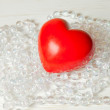 Red valentine heart — Stock Photo #61721807