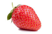 Red strawberry isolated on white background — Stock Photo