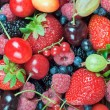 A mixture of berries — Stock Photo #77676626