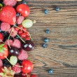 A mixture of berries — Stock Photo #79026048