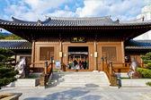 чи лин монастырь, гонконг — Стоковое фото