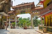 Architecture of Main Entrance of Sam Poh Tong, Ipoh — Stock Photo
