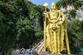 Batu Cave, Malaysia — Foto Stock