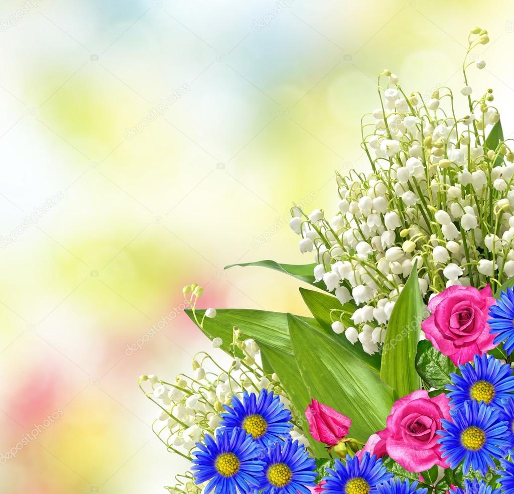 Цветы для поздравительных открыток с 129