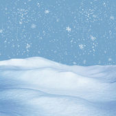 Snowdrift — Stock Photo