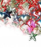 Weihnachtsbaum und spielzeug — Stockfoto