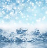 Zimní pozadí — Stock fotografie