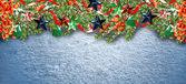 Fondo de Navidad. juguete de la Navidad. — Foto de Stock