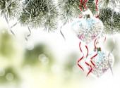 クリスマスの背景。クリスマス グッズ. — ストック写真