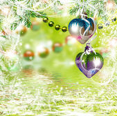 Абстрактный фон Рождество Рождественские игрушки. — Стоковое фото